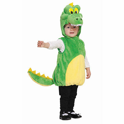 Toddler Cuddly Crocodile Halloween Costume Size - Crocodile Toddler Costume