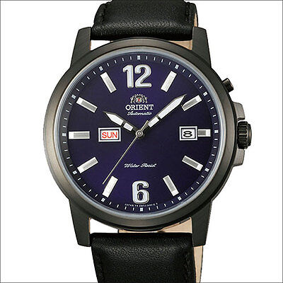 Orient 42mm Starfish Day and Date Automatic Watch with Black PVD Case #EM7J002D