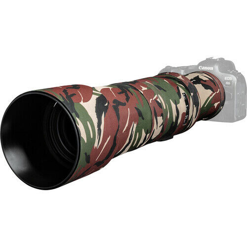 easyCover Lens Cover for Canon RF 800mm f/11 IS STM Lens Green Camo LOC800GC