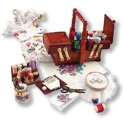 Dollhouse Miniature Needlepoint