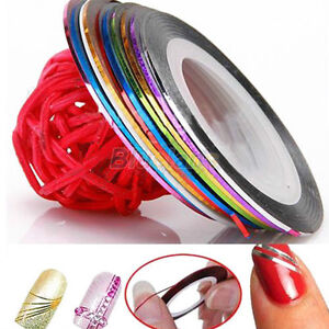 10-Color-Rolls-Striping-Tape-Line-Nail-Sticker-Nail-DIY-Kit-Nail-Art-UV-Gel-Tips