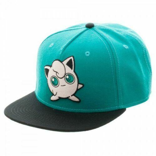 Discounted POKEMON Jigglypuff Color Block Snapback Baseball Cap New Sealed Hat