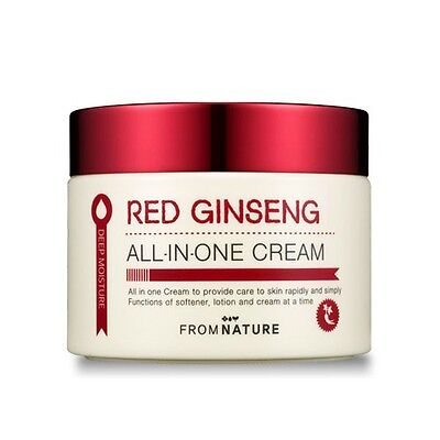 From Nature Red Ginseng All In One Cream 100g Calming Skin Moisture K beauty
