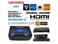 600 MHZ OvErbOx V8S★2016 SaT ReCIeVeR ✰12 MtHS ALL ChAnNeLS✰NETWORK UPGRADE✰OPENBOX UPGRADE