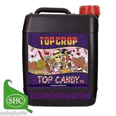 TOP CANDY 5L Abono Potenciador de Floracion 100% Organico, Fertilizante TOP CROP