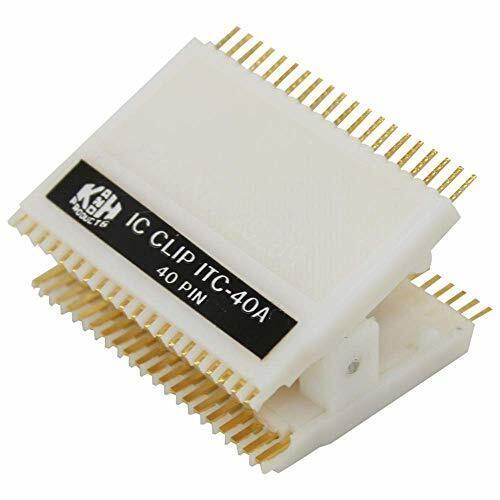 "40 Pin IC Test Clip, 0.6"" Pin Spacing"