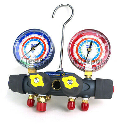 Yellow Jacket 49933 Manifold Rb Gauge Barpsi R-22134a404a C