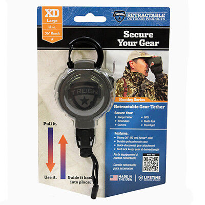 Treign 0Trg 241 El Retractable Gear Tether Hunting  Extreme Duty  14  0Trg241el