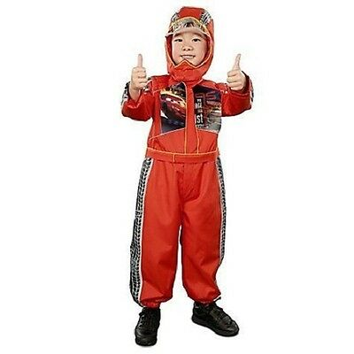 DISNEY STORE LIGHTNING MCQUEEN COSTUME SIZE 7-8-NEW ()