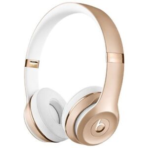 Gold Beats solo 3 just like new