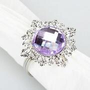 Purple Napkin Rings
