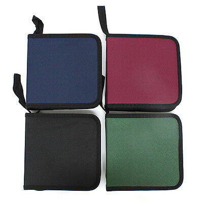 40 DISC CD DVD Music Movie Portable DJ Bag Case Holder Wallet Storage Pack Carry