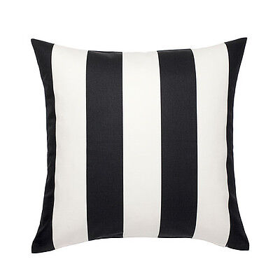Cushion Black Stripe (IKEA VARGYLLEN DECORATIVE BLACK WHITE STRIPE PILLOW COVER CUSHION COVER 20x20