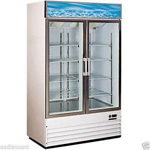 Glass Door Freezer Ebay