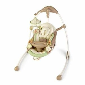 Bright Stars Baby Swing (plug-in or battery)