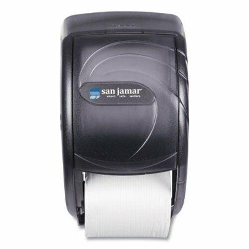 San Jamar Duett Toilet Tissue Dispenser, Black Pearl, Each (SJMR3590TBK)