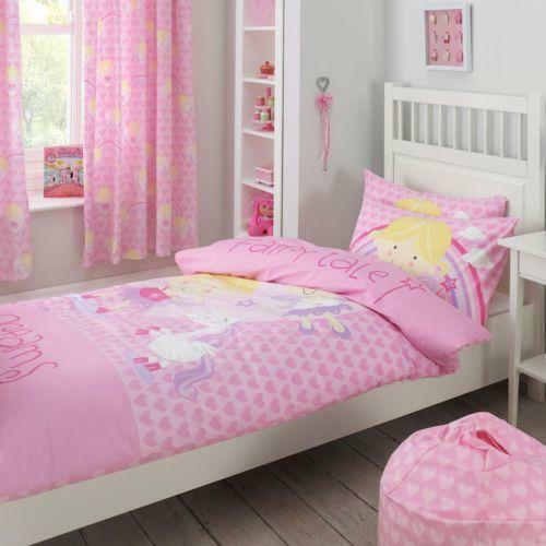 Girls bedroom curtains ebay for Childrens bedroom ideas girls