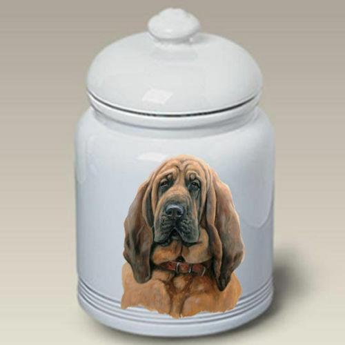 Bloodhound Ceramic Treat Jar LP 45073