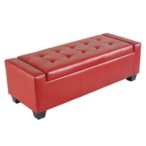 Storage Ottoman - Ottomans - Storage, Coffee Table, Leather, Round EBay