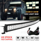 White Curved LED Car & Truck Light Bars