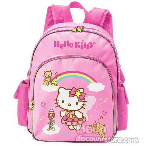 Sanrio Hello Kitty Pink Meduim Backpack : Melody Angels