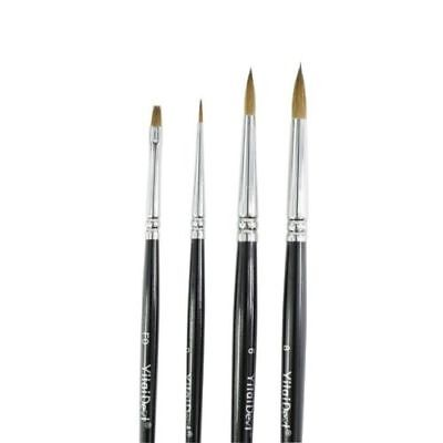 High Quality Dental Lab Porcelain Brush Pen 3 Pcs All Numbers