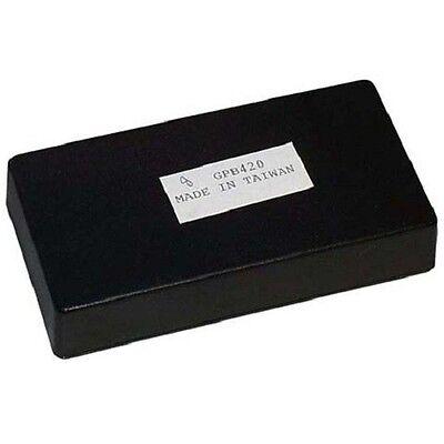 Abs Black Plastic Project Box 0.8 X 4.25 X 2.188  Pb114b