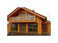 Essen Guest Log Cabin - 8.70m x 8.70m