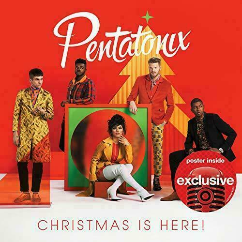 Christmas Is Here Pentatonix (Brand New - Cracked Case)