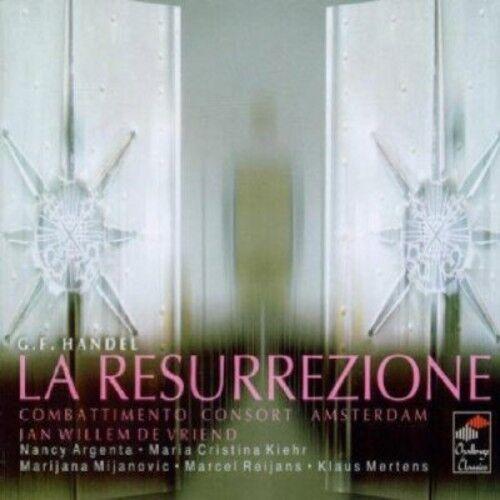 Jan Willem de Vriend, Les Lunes du Cousin Jacques - La Resurrezione [New CD]