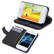 iPhone 4 s Cover Leather Card Holder