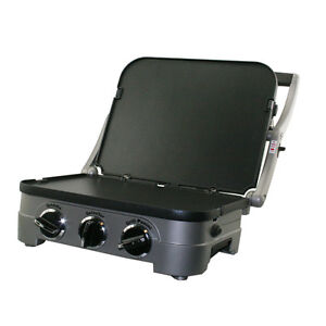 NEW-Cuisinart-Stainless-Steel-Griddler-GR4-4-in-1-Grill-Panini-Press-GR-4-GR4N