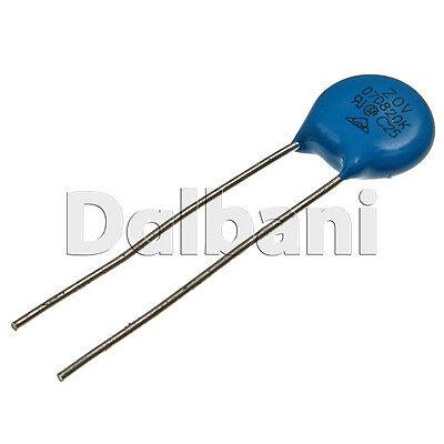 5pcs 14D121K Metal Oxide Varistor Dependent Resistor 120V 75VAC 100VDC