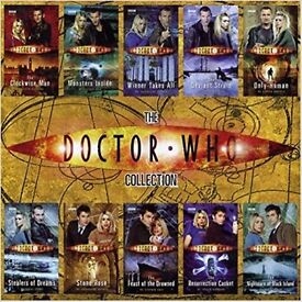 Dr Who BBC 10 Book Set in Presentation Case NEW £10