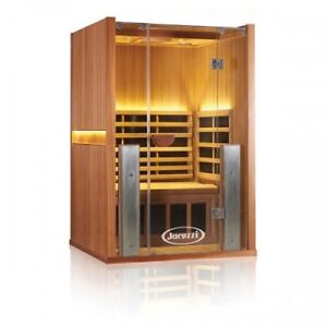 Jacuzzi Sanctuary 2FULL SPECTRUM TWO PERSON INFRARED SAUNA