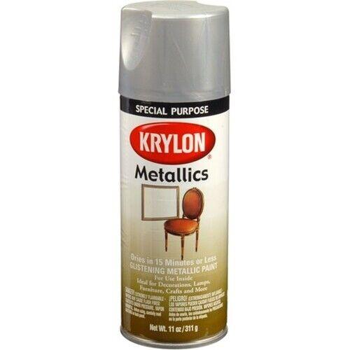 Krylon 1403 Special Purpose Indoor Fast-Dry Dull Aluminum Metallic Spray Paint