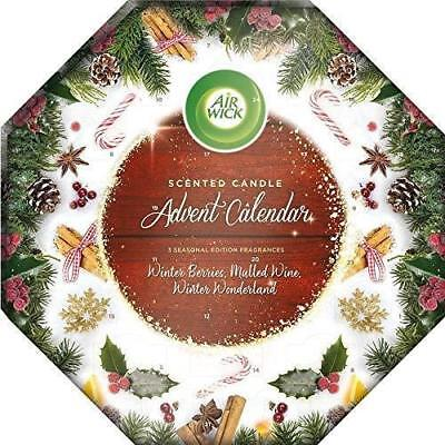 Air Wick Scented Candle Advent Calendar Gift Set Wax Holiday Party Christmas