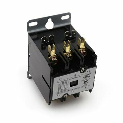 3 Pole 40 Amp 120v Coil Hvac Definite Purpose Contactor - Alltek