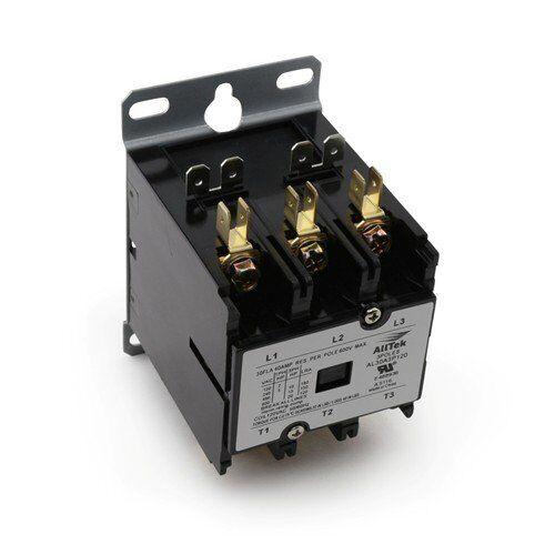 40 Amp 3 Pole 24V Coil HVAC Definite Purpose Contactor Replacement- ALLTEK