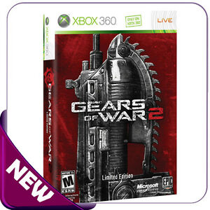 Gears Of War 2 Limited Edition ULTRA RARE SEALED UK PAL Version **REAL PICS**