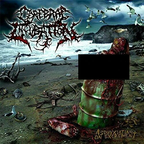 Cerebral Incubation - Asphyxiating on Excrement [New Vinyl]