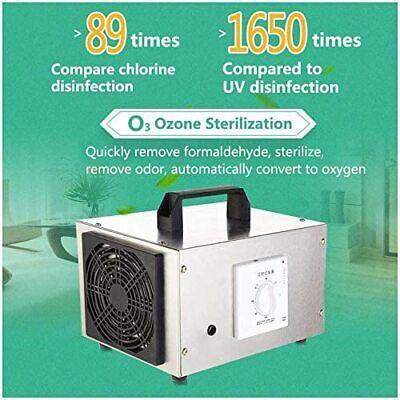 10000mgh Portable Ozone Generator Ozone Machine Household Home Air Ionizers Us