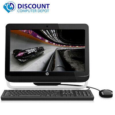 "HP 3420 Pro 20"" All-In-One Desktop Computer PC Core i3 4GB 250GB HD Windows 10"