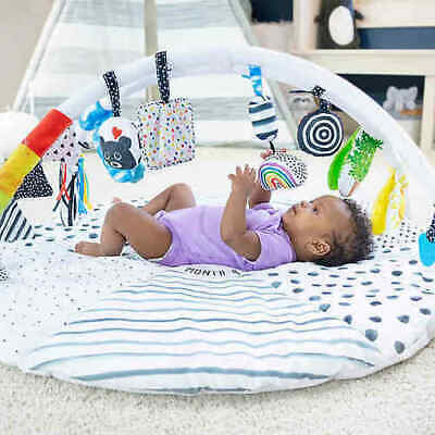NEW Sassy Baby Tummy Time Reversible Milestone Activity Gym