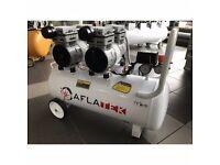 Silent Air Compressor Oil Free Aflatek Pro 50L 65dB 220L/Min 8Bar 1600W 230V