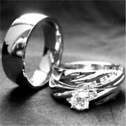 His and Hers Wedding Rings Titanium