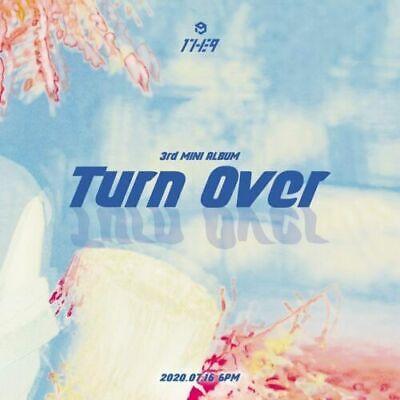 1THE9 [TURN OVER] 3rd Mini Album CD+POSTER+Fotobuch+2ea Karte+Buch Mark SEALED