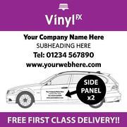 Vinyl Car Sticker Advertising