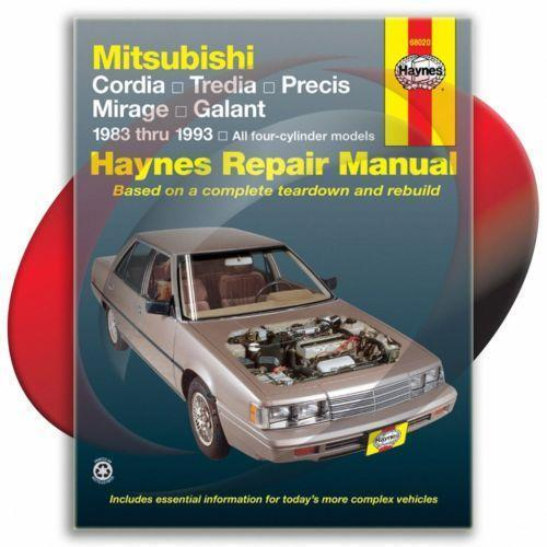 Mitsubishi mirage repair manual ebay fandeluxe Images