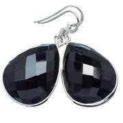 Sterling Onyx Earrings